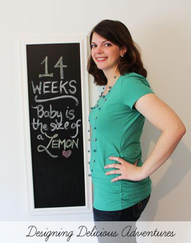 Baby Bump Week14