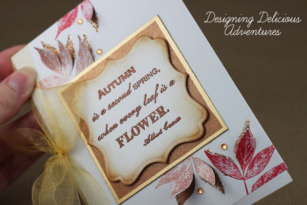 Autumn Handmade Card