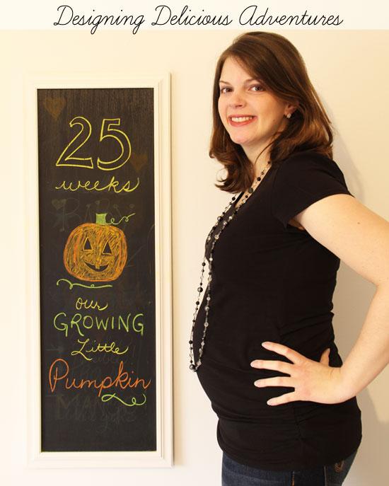 Baby Bump Week 25