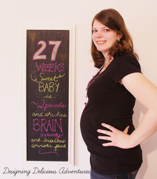 Baby Bump Week 27