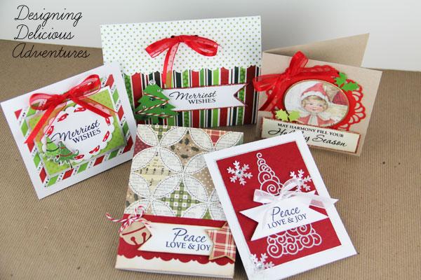 December Handmade Cards