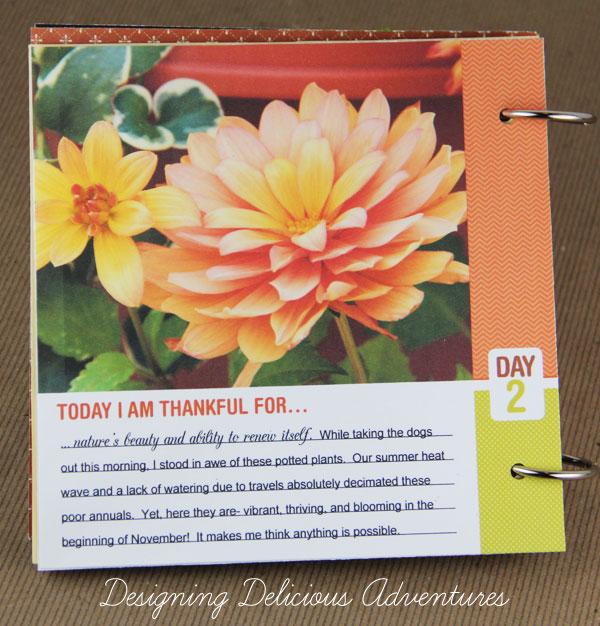 Fall Gratitude Book Detail 2