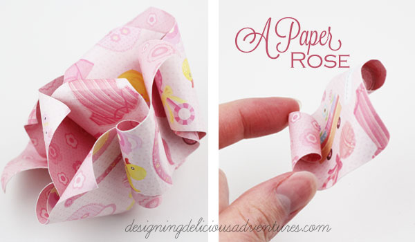 Mother's Day Paper Rose
