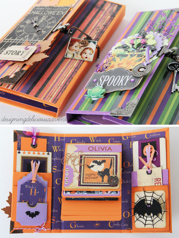 Halloween Scrapbooks