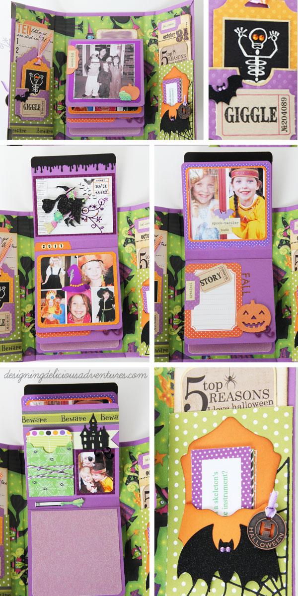 Halloween Memory Book Details 2