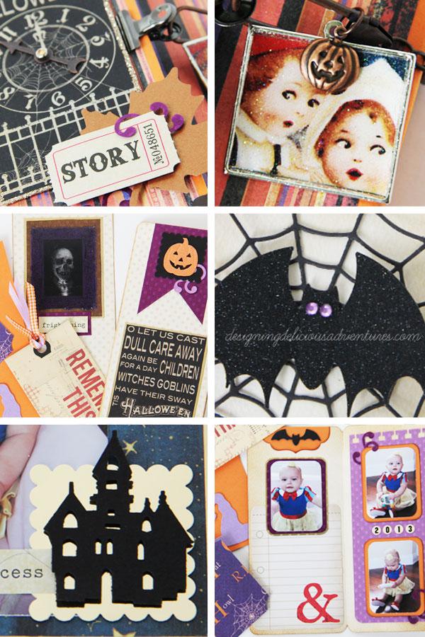 Halloween Memory Book Details