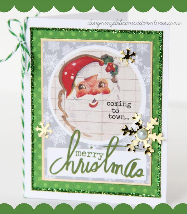 Santa Cheer Card