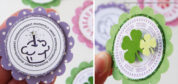 Cupcake Topper Details