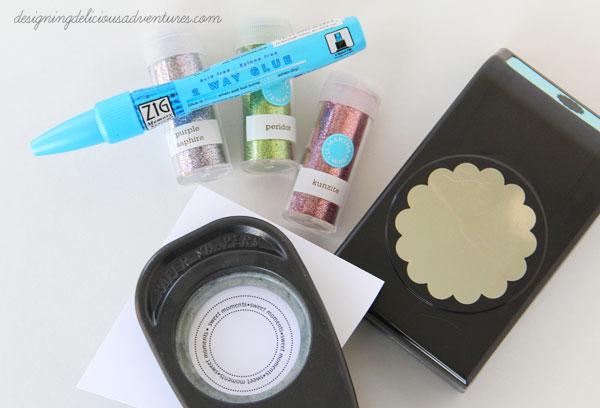 DIY Cake Topper Materials