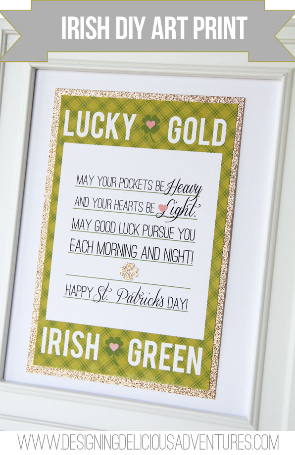 Irish DIY Print