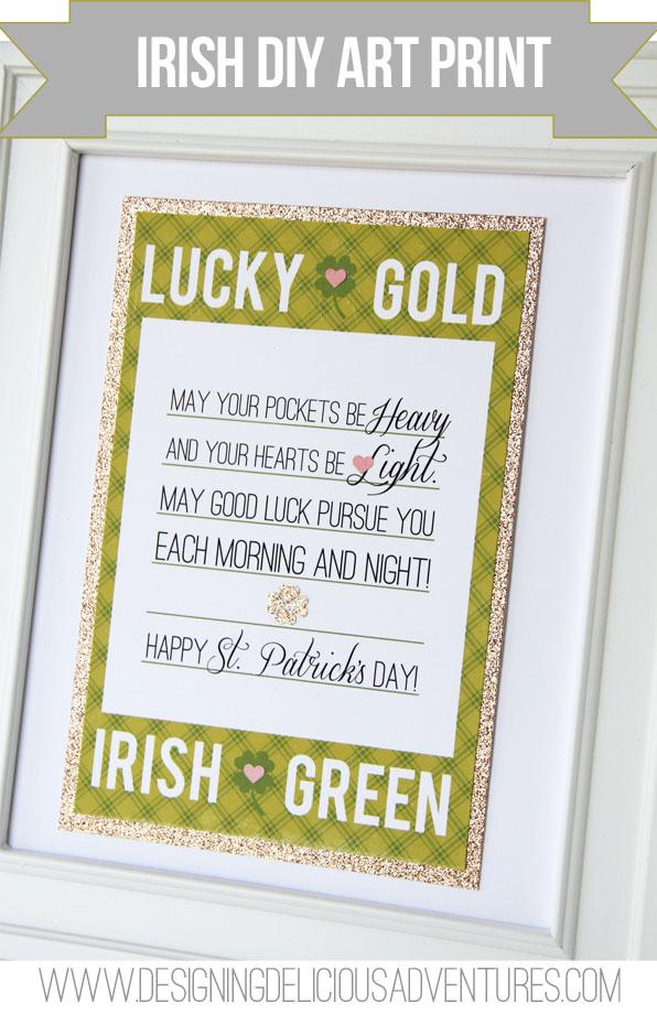 Irish DIY Print