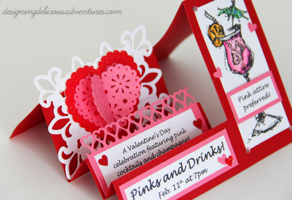 Pinks and Drinks Invitation 2