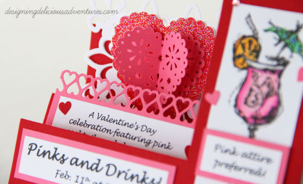 Pinks and Drinks Invitation 3