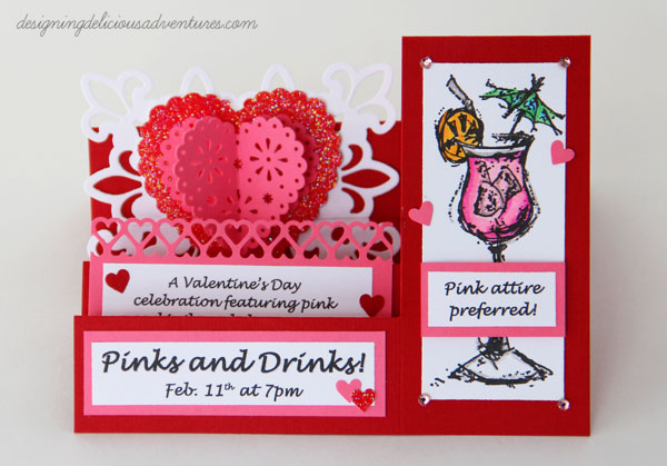Pinks and Drinks Invitation
