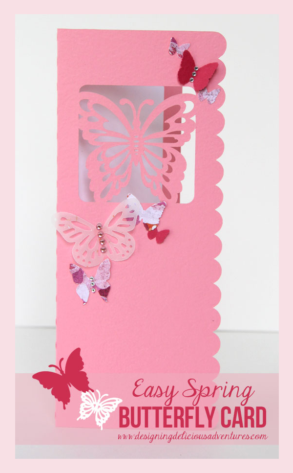 Spring Butterfly Card