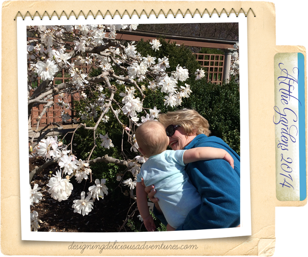 Grandma and Olivia Spring 2014