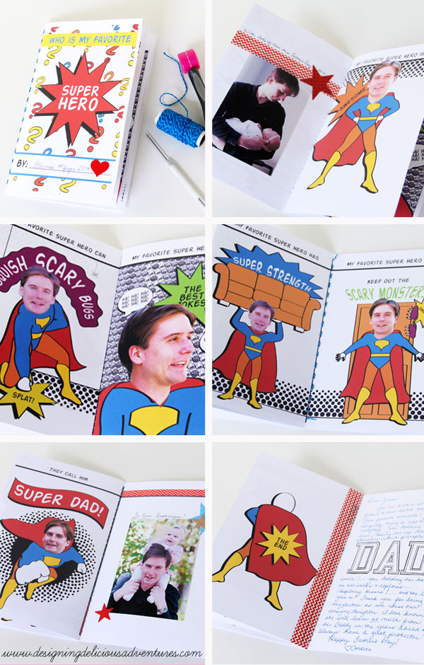 Super Dad Book
