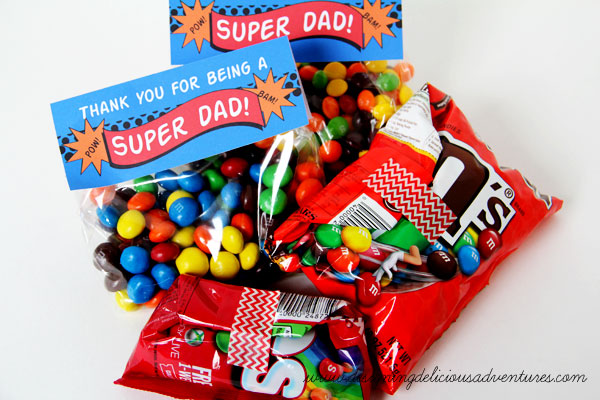 Super Dad Treats