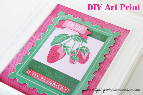 DIY Art Print JS June