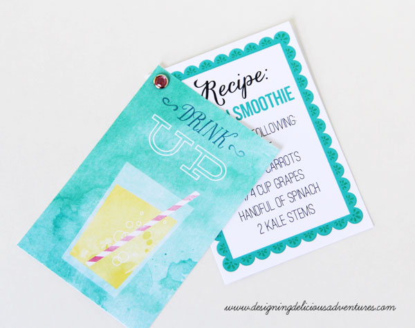DIY Recipe Card JS June