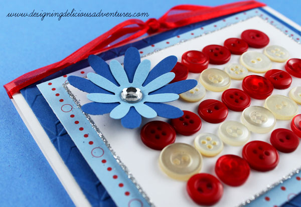 Patriotic Card Detail