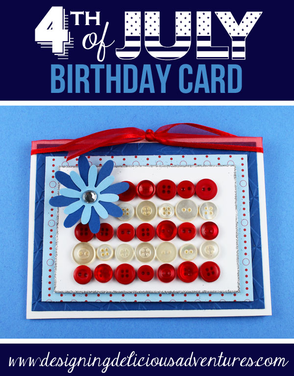 Patriotic Handmade Card