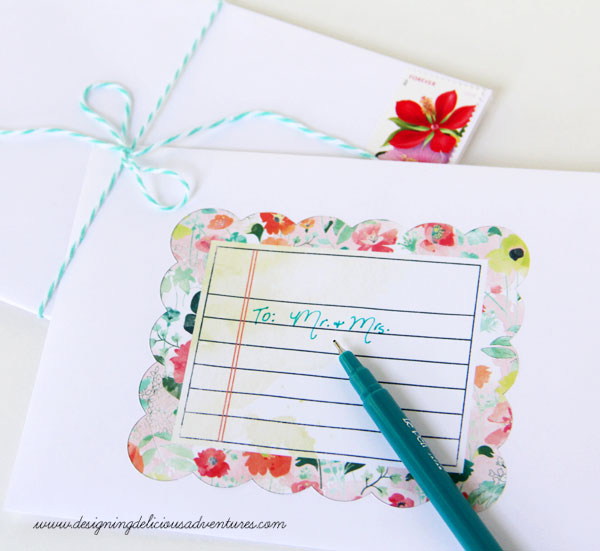 Pretty Envelope Design JS June