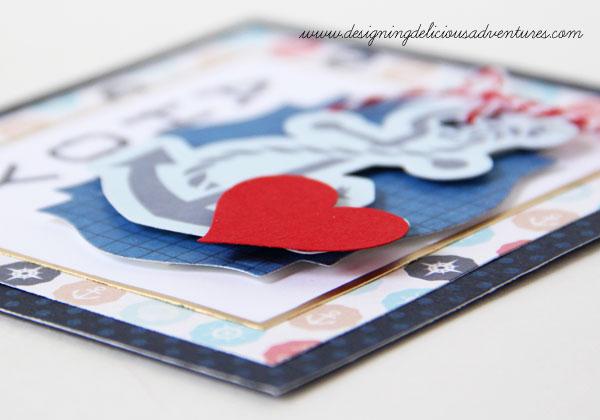 Ahoy Card Layering Detail