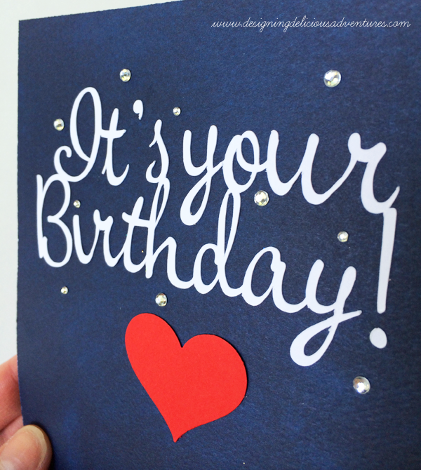 Birthday Greeting Detail