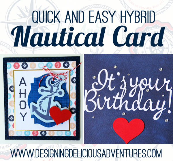 DIY Nautical Card