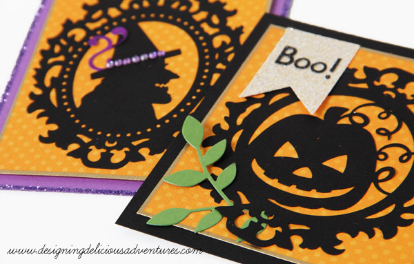 Halloween Cameo Card Details