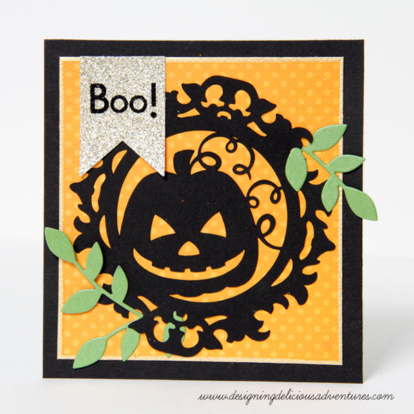 Pumpkin Cameo Card