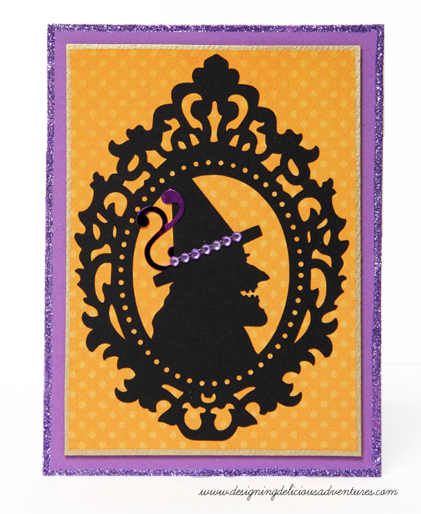 Witch Cameo Card