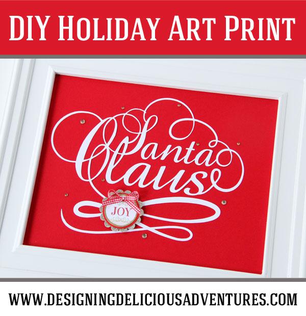 Santa-Art-Print-Pinterest