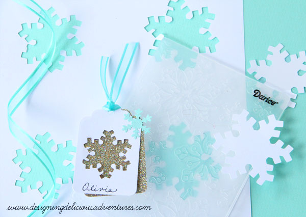 Snowflake Gift Tag Tutorial