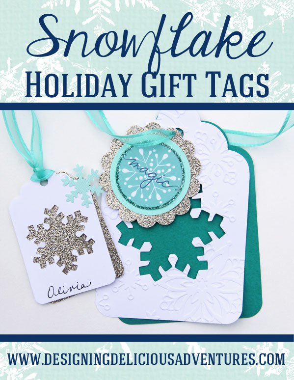 Snowflake Holiday Gift Tags