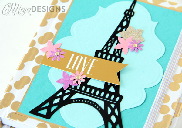 Paris DIY Journal Cover
