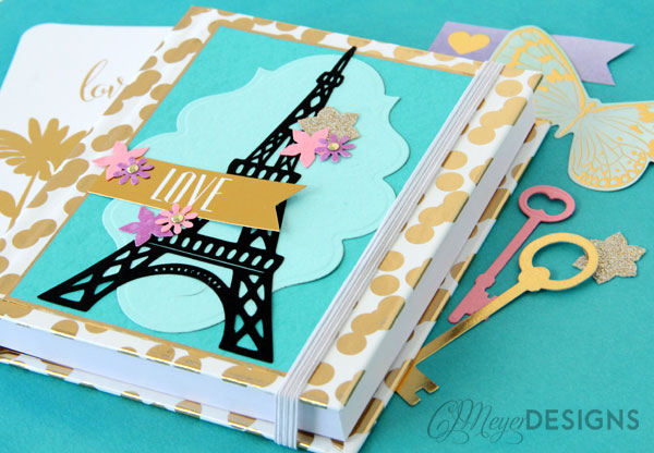 Paris DIY Journal Embellishments