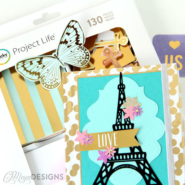 Paris DIY Journal Supplies