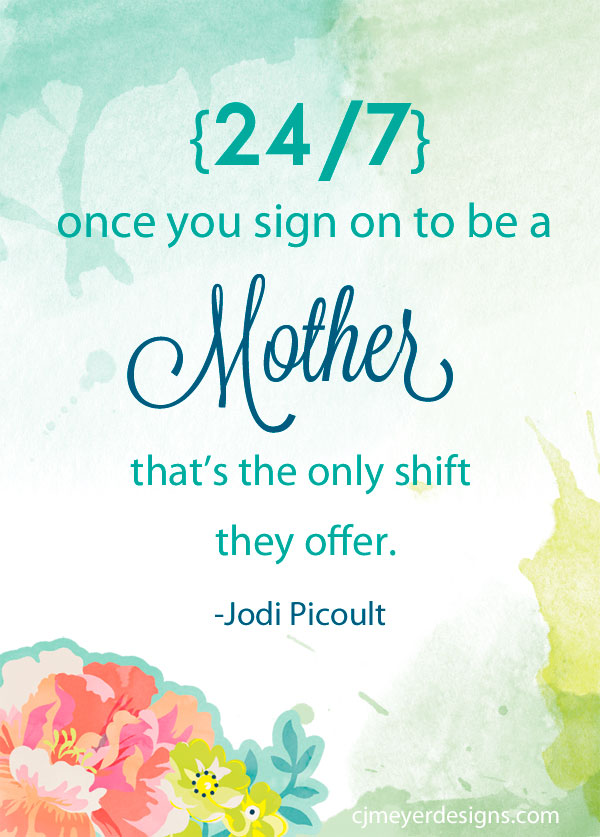 Motherhood Inspirational Quote